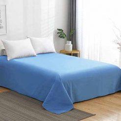 Sofy® 100% pamut lepedő - kék 5 méretben