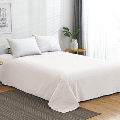 Sofy® 100% pamut lepedő - fehér 5 méretben